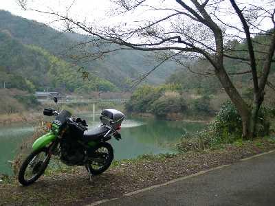 午後から堀河ダムまでチョイノリツーリング(スーパーシェルパ)