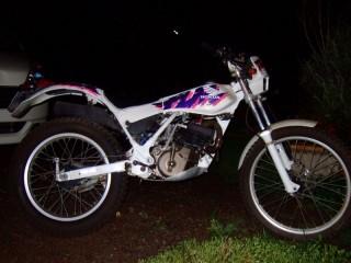 HONDA TLM220R