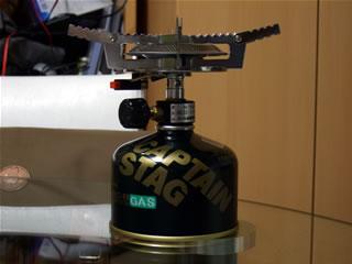 オーリック 小型ガスバーナー・クッカーセット
