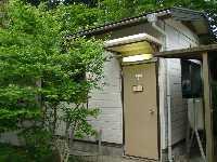 これが女神の湯の浴場!トイレみたいな概観。一応脱衣所はある。500円なり。