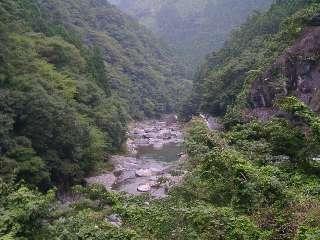 玉川峡景観
