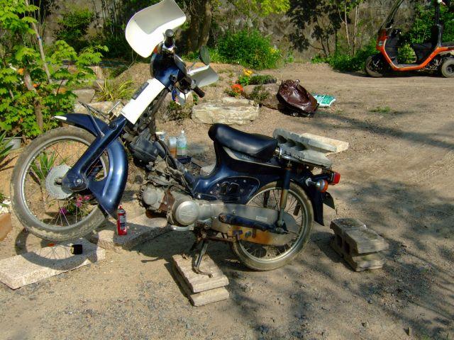 GoPro HD HERO2のバイクへの取り付け(マウント)方法アレコレ