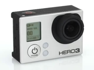 GoPro HD HERO3(HERO3 BLACK EDITION)が発売!