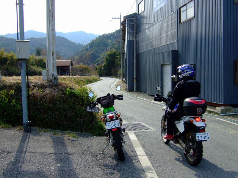阪南市田山川~岬町沢池の周辺林道散策