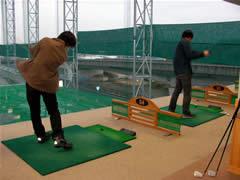 ひさびさにゴルフ