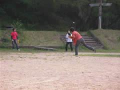 キャッチボール&トレッキング