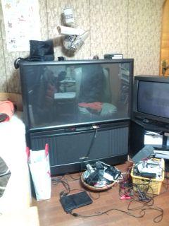 リアプロジェクションテレビを頂く