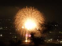 打田で花火