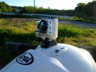 GoPro HD HERO2のマウントと固定方法