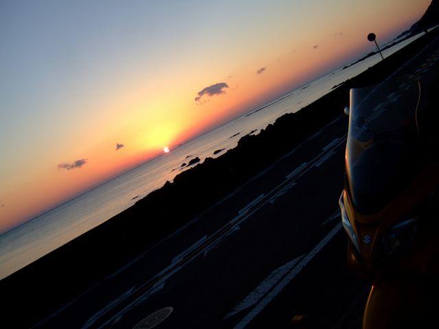 晩秋の南紀キャンプツーリング 出発~潮岬キャンプ場(潮岬望楼の芝キャンプ場)