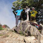 梯子と鎖だらけの大普賢岳に登る(日本岳のコル~大普賢岳山頂)
